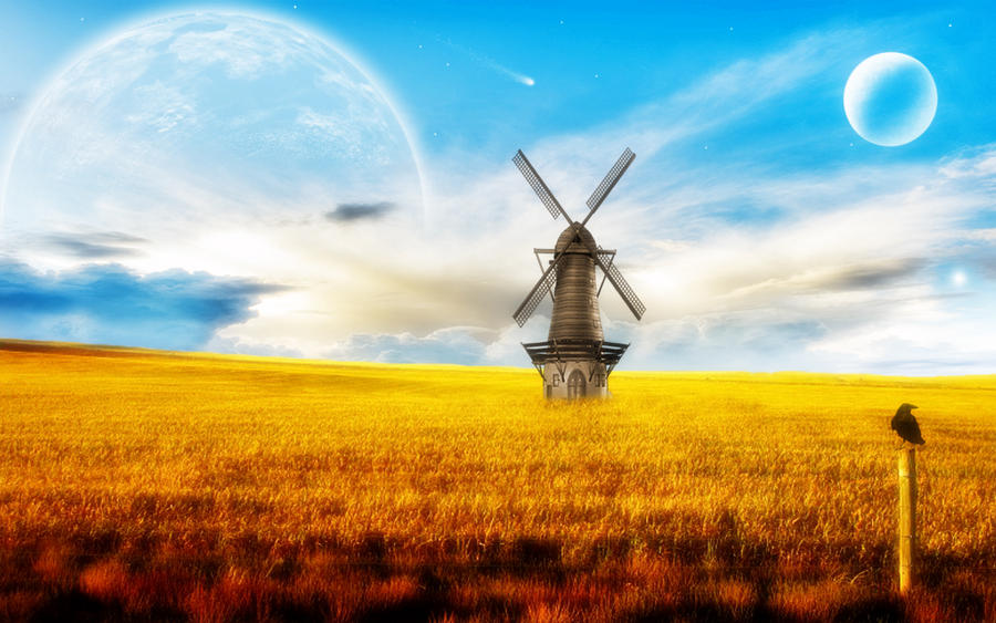 The Old Windmill by welshdragon