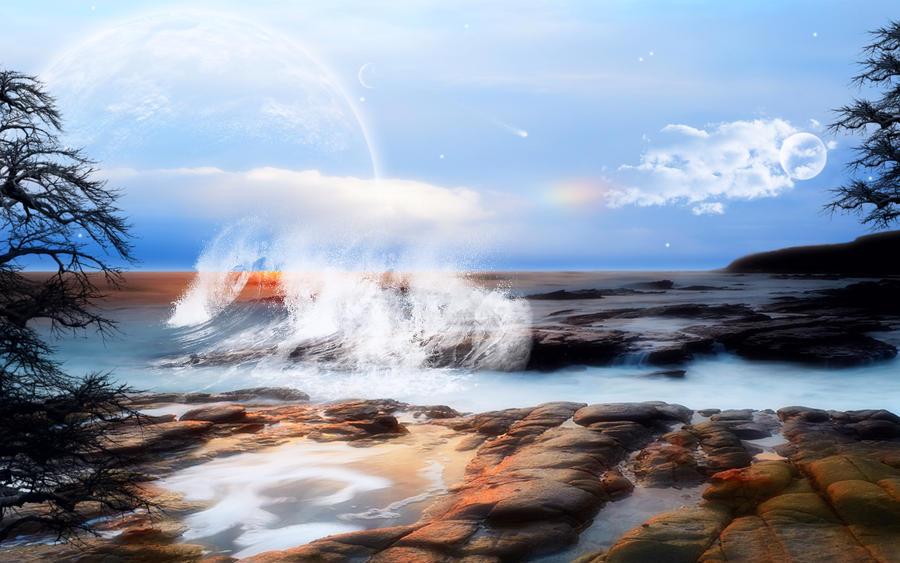 Stormy Seas by welshdragon