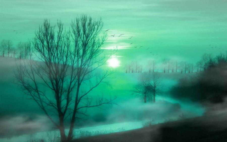 Cool Autumn Sun 5 by welshdragon