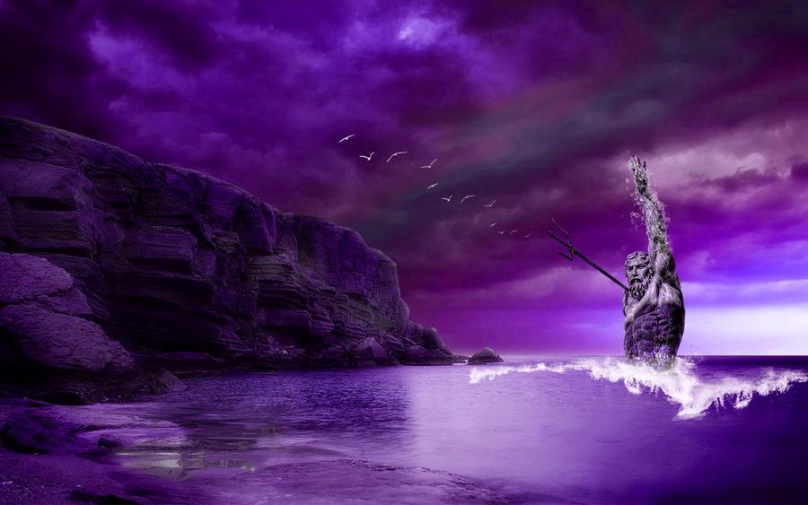 Neptune Rising 5 by welshdragon
