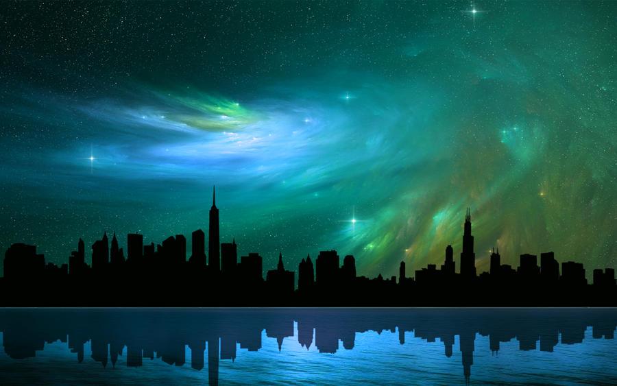 Nebula Skies 2 by welshdragon