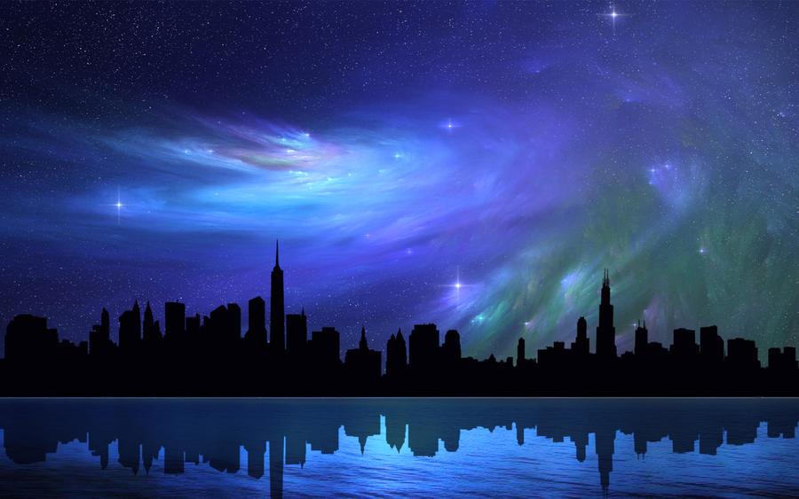 Nebula Skies 9 by welshdragon