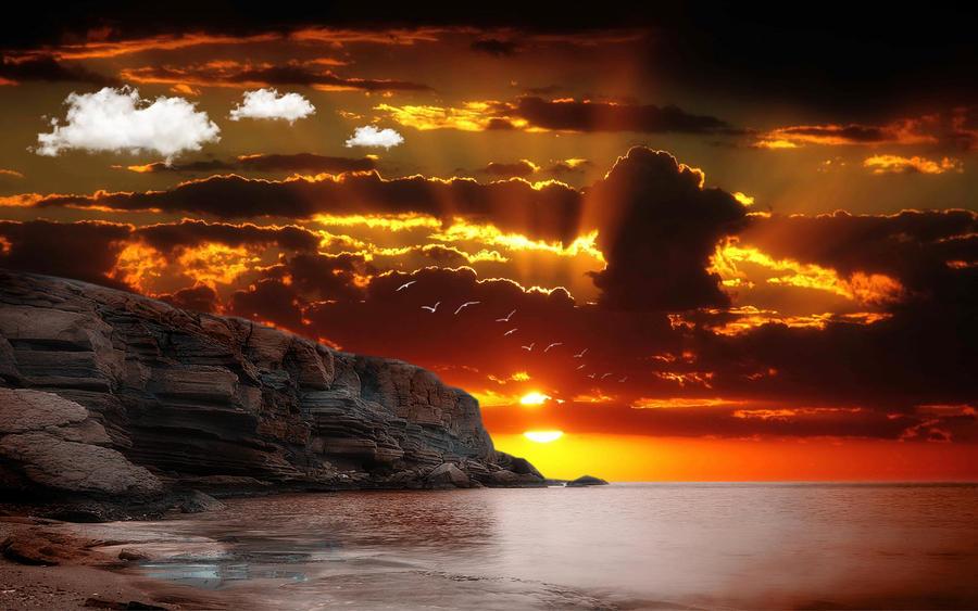 Velvet Skies by welshdragon