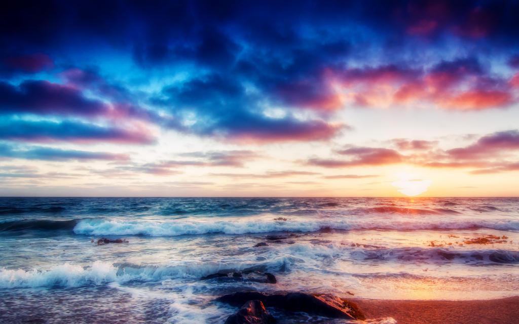 Sea Coast by welshdragon