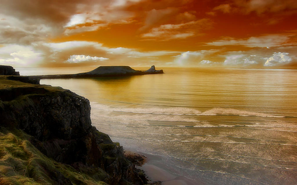 Coasts Of Wales 2 by welshdragon