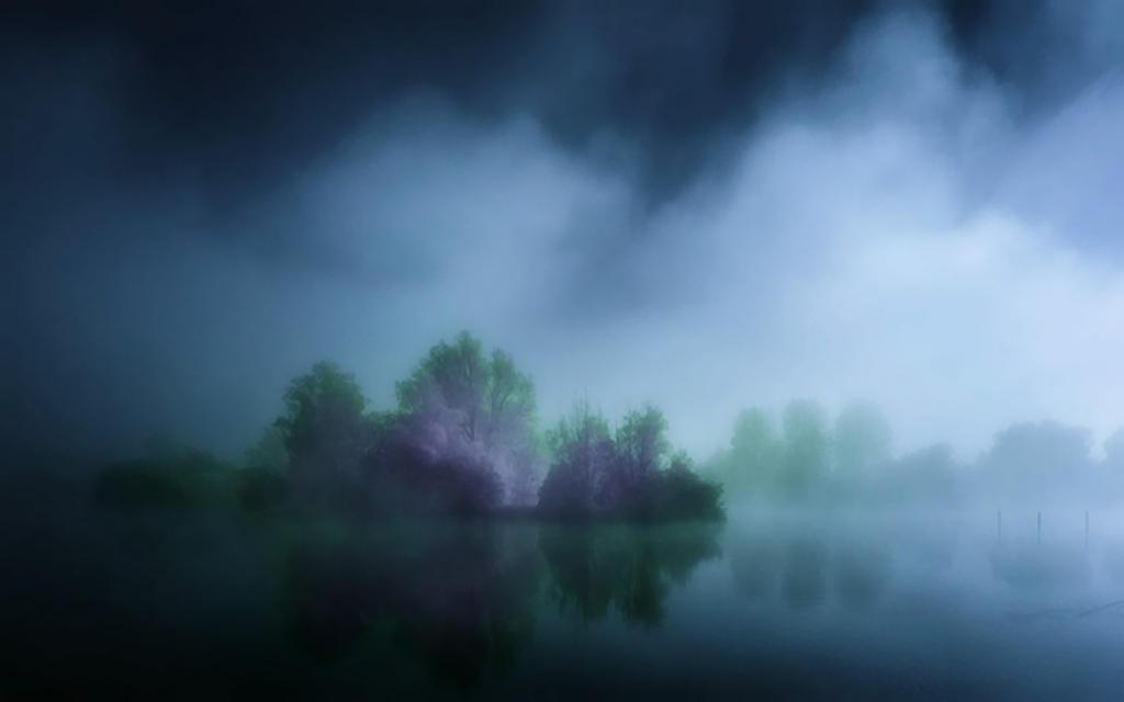 Descending Mist 2 by welshdragon
