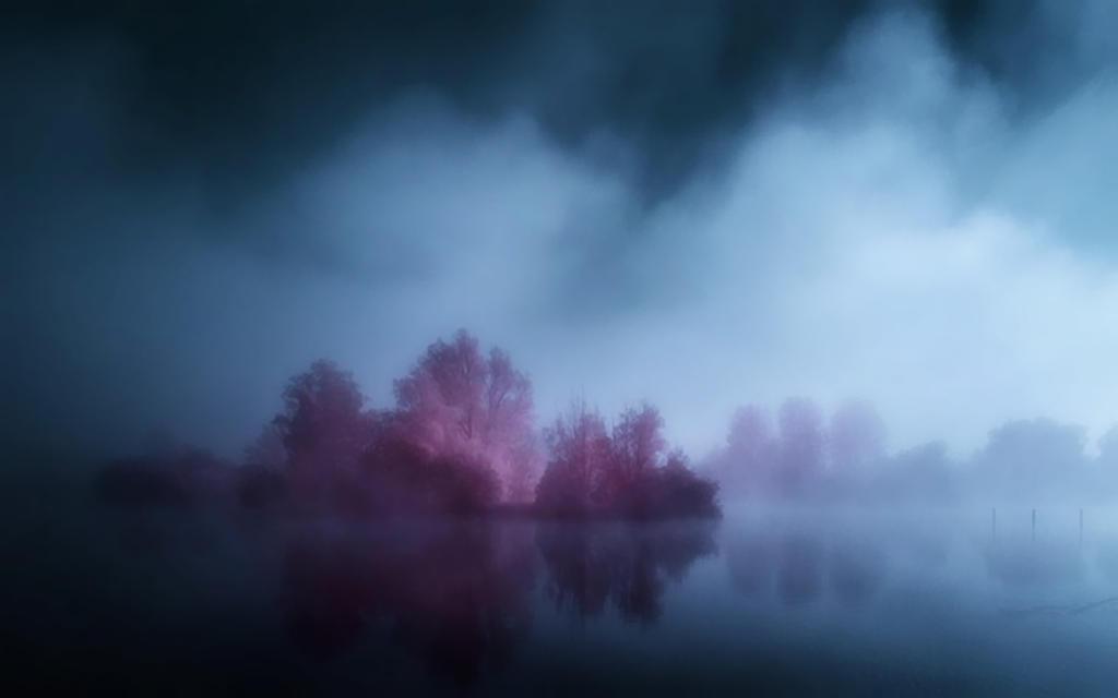 Descending Mist 3 by welshdragon