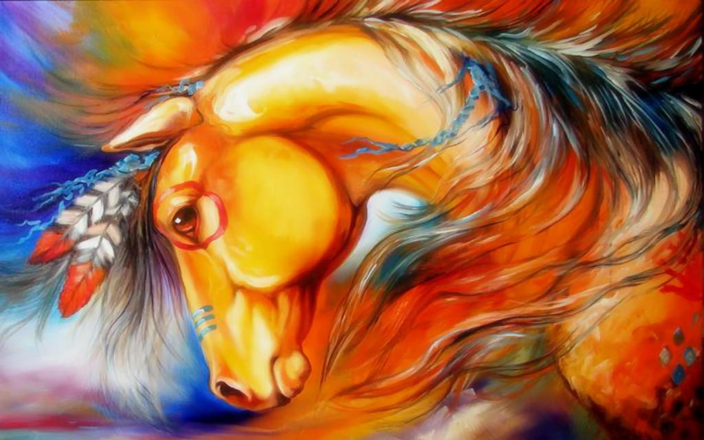 wallpaper horse tonight welshdragon - photo #3