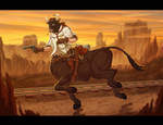 Wild West Bulltaur (Alt) by Lizkay
