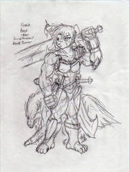 Bear Sword Hunter by F9x