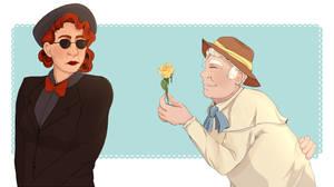 A Nanny and a Gardener