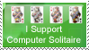 Computer Solitaire Stamp by Dragara