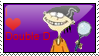 I Love Double D Stamp by Dragara