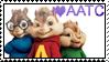 I Love AATC Stamp