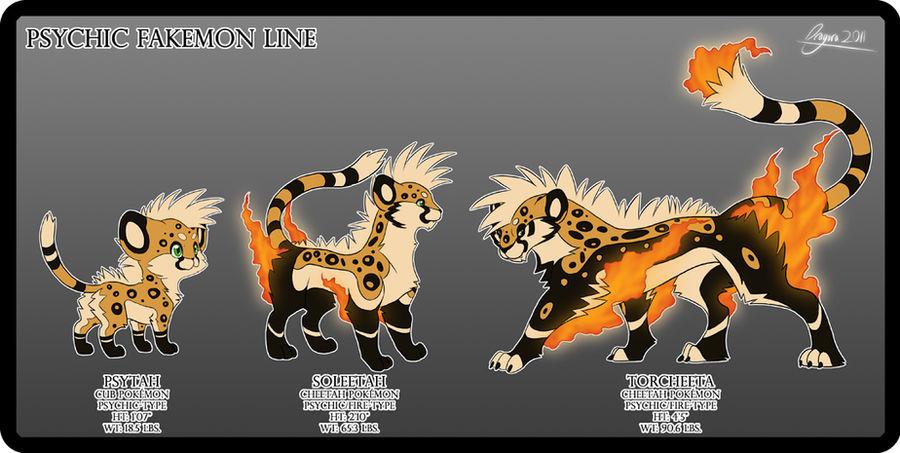 Psychic Mohawk Cheetahs by Dragara