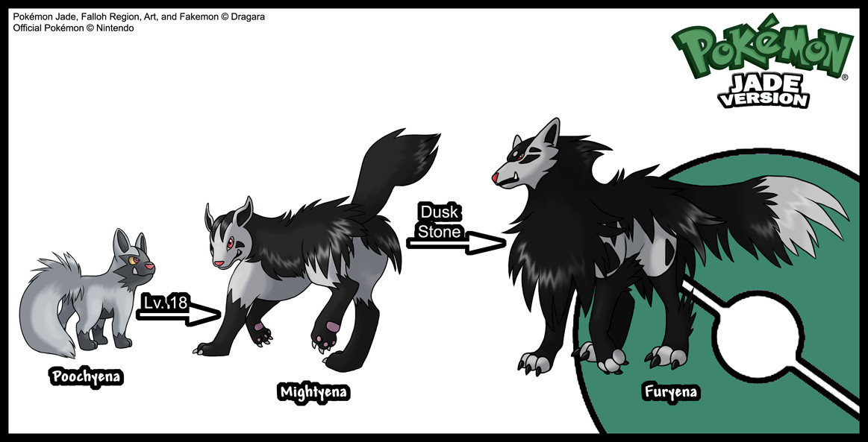 Fakemon: Poochyena Line by Dragara on DeviantArt