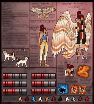Teen Titans OC: Phoenix by Dragara