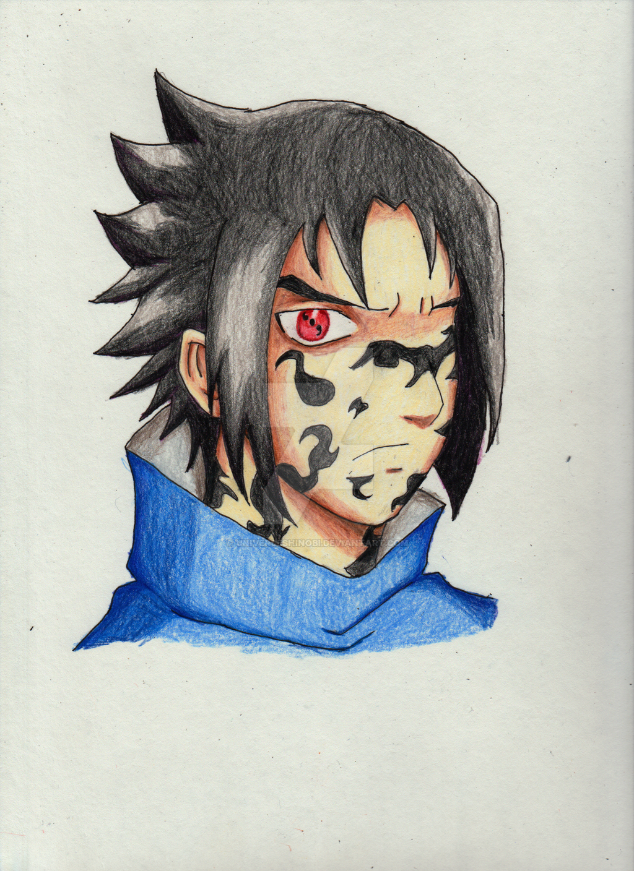 Sasuke Uchiha : Curse Mark by UniverseShinobi on DeviantArt