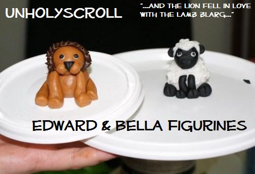 Bella and Edward Figurines by UnholyScroll