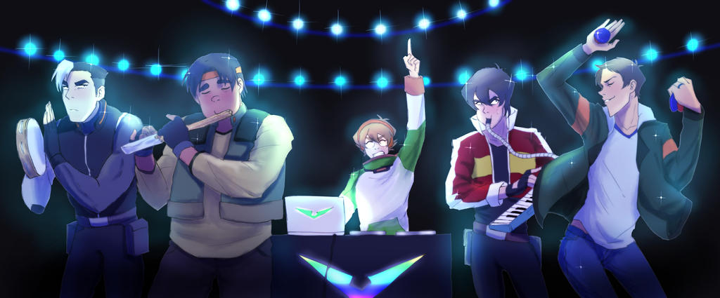 Form Voltron (band) by Gobusawa on DeviantArt