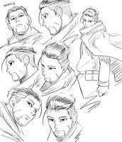 Golden Kamui Sketch 2