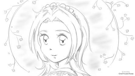 Sakura Haruno, Naruto by OneFrozenRose