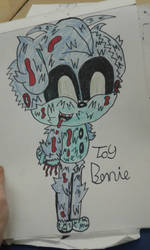 Toy Bonnie (FNAF) by gabby11201