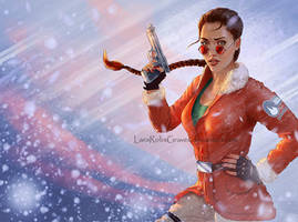 Classic Tomb Raider Antarctica Remake by LaraRobsGraves