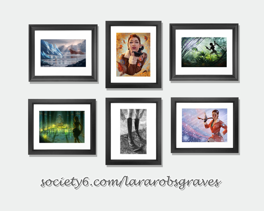 Framed Art Prints by LaraRobsGraves