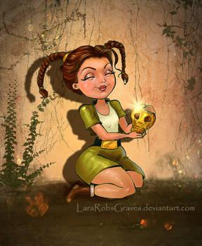 Young Lara doodly