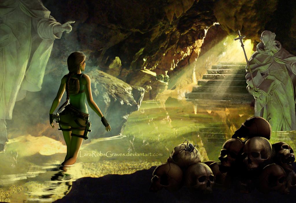Tomb Raider  Playstation  Game Glitch Thor Room