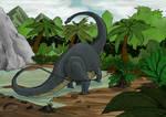 Dinosaur 1 - Apatosaurus