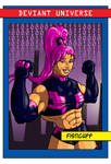 DU - Trading Cards - Fisticuff by Stegoceras