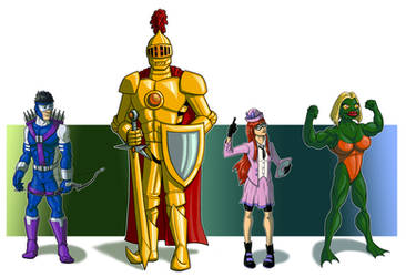DU - Kingdom Come characters - Part 1 by Stegoceras