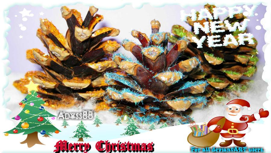 Merry Christmas & Happy New Year by Andrei-Azanfirei