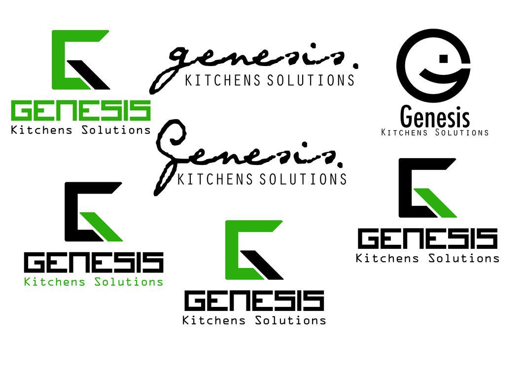 Kitchen Logo Design Ideas ~ Genesis kitchens solutions logo design ideas by thomasdyke