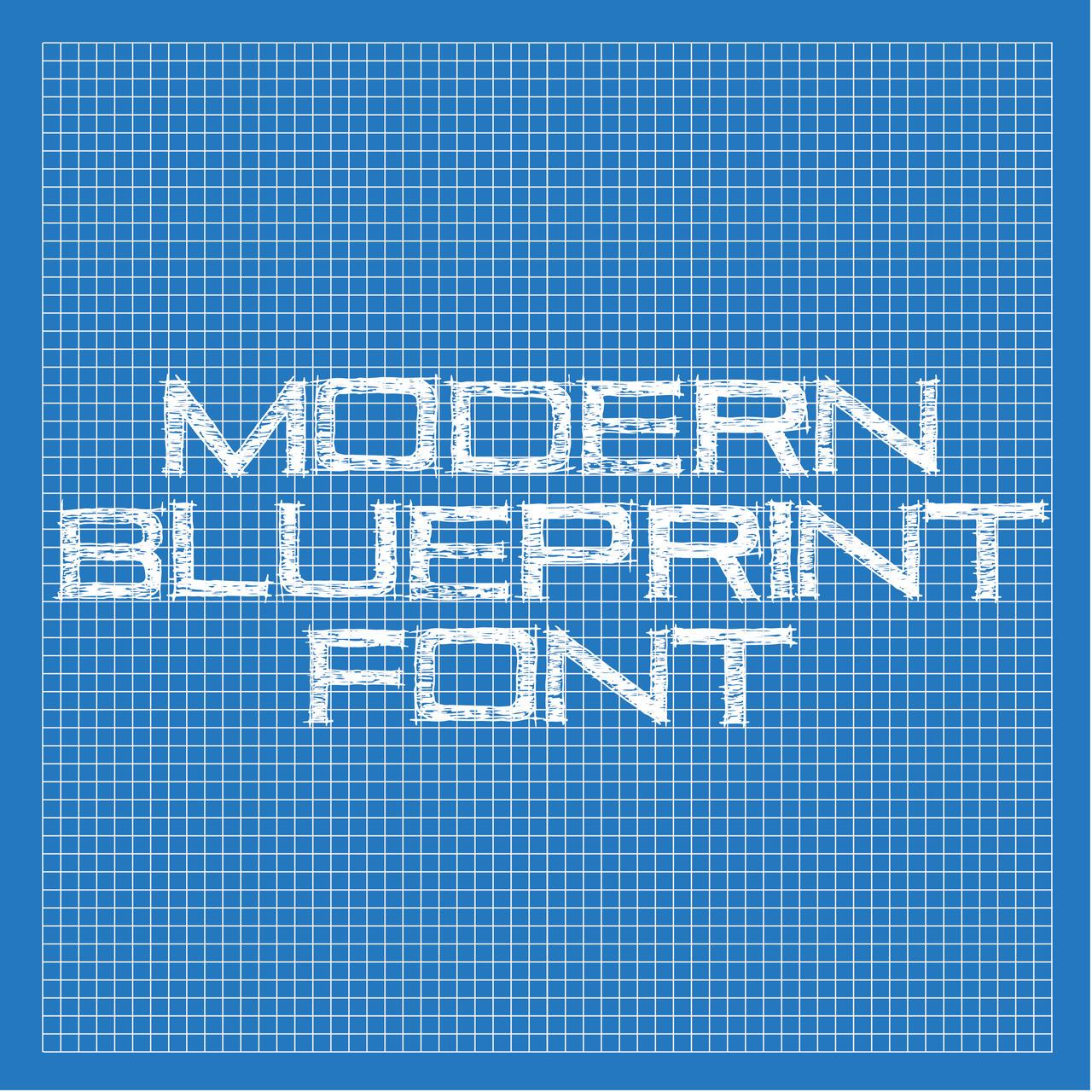 Modern Blueprint Font By Thomasdyke On Deviantart