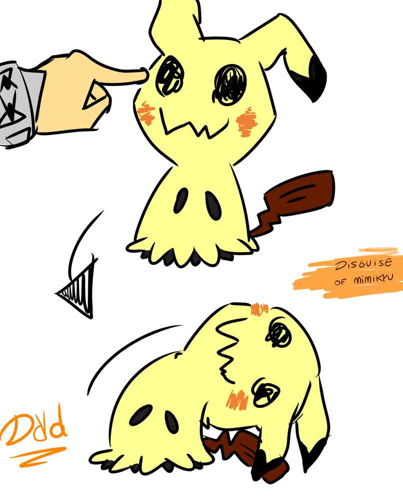 Mimikyu Dayo! by Doridi