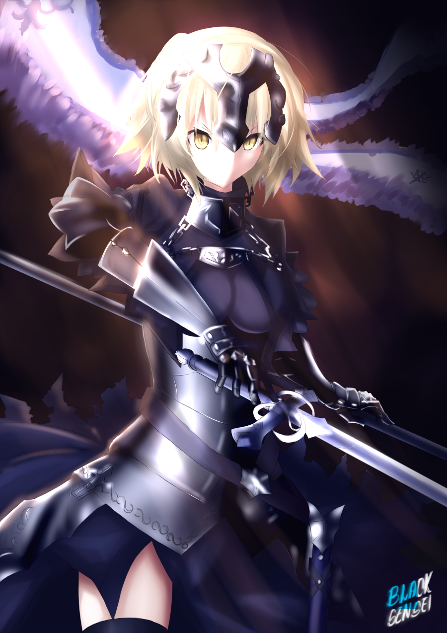 View Fate Grand Order Jeanne Alter Fanart Wallpapers