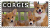Corgi Stamp by TahkiBK
