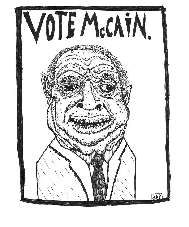 JOHN MCCAIN. by gollum42