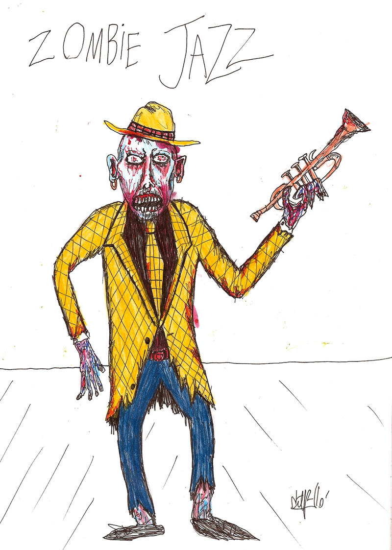A Doença de Jazzeimer Zombie_Jazz_by_gollum42