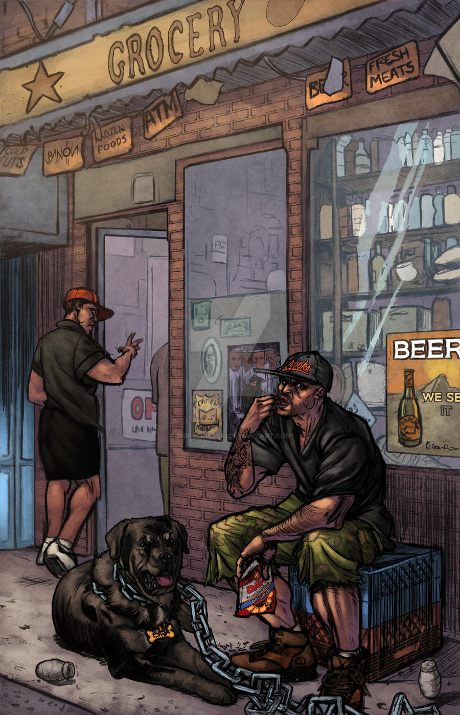 bodega dreams character In the heights usnavi de la vegathe owner of a bodega in washington heights  he was named after one of the first sights his parents saw when they arrived.