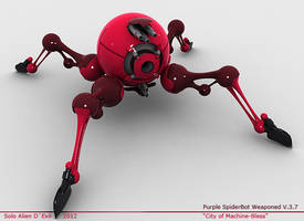 Purple SpiderBot Weaponed v.3.7