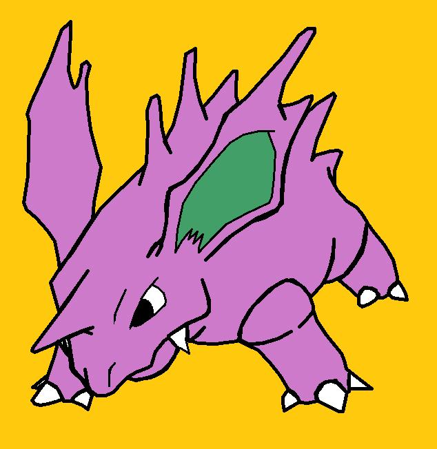Pokemon - Nidorino by LamePie on deviantART