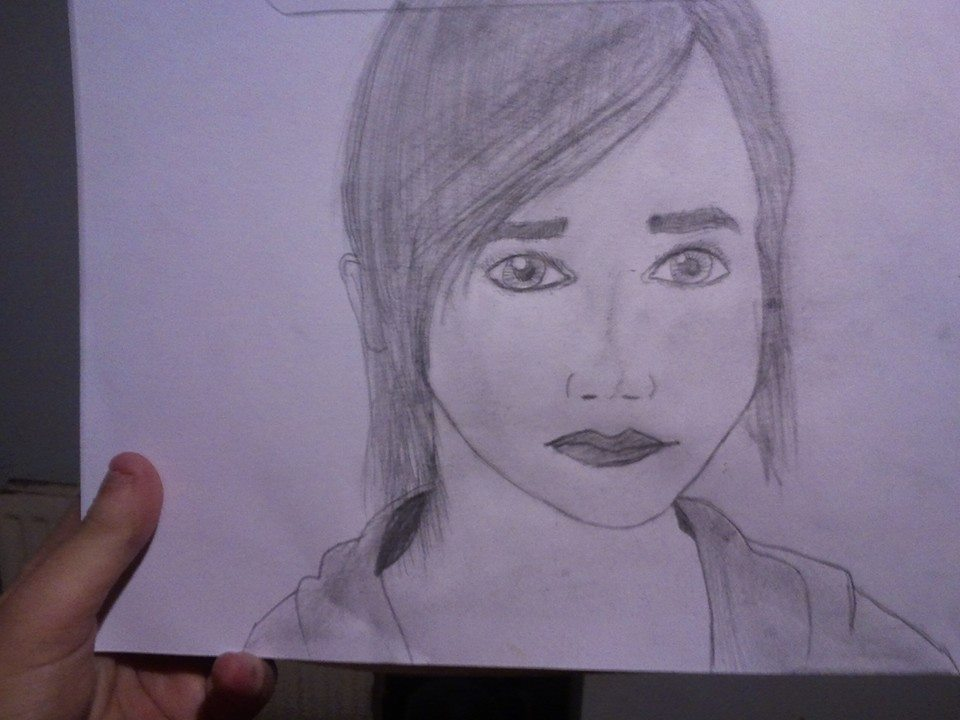Ellen Page Sketch by LamePie