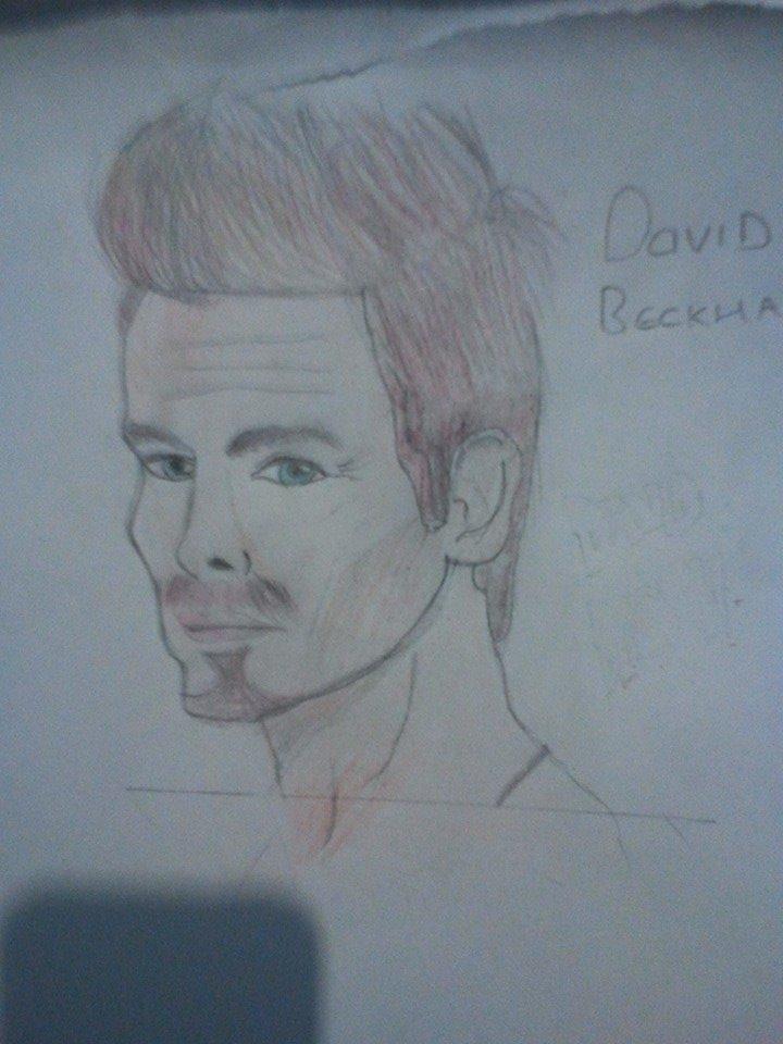 Quick David Beckhman Sketch by LamePie