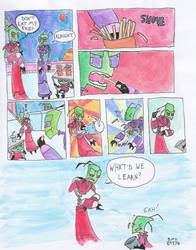 Don't Eat My Fries - Invader Zim Vine Parody by IronOnion32