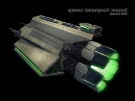Space Vessel by joeydee-artworks