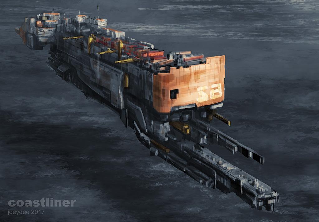 Coastliner by joeydee-artworks
